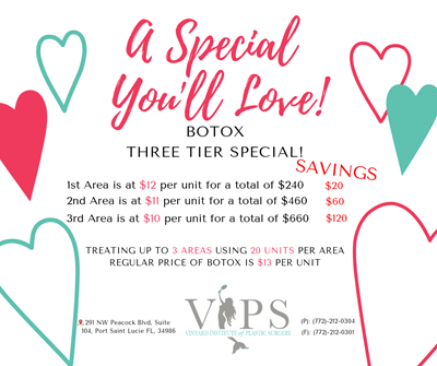 Botox Three Tier Special